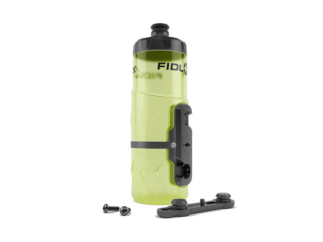 Fidlock Twist Bottle 600 Vätskesystem incl. Mount gul/transparent